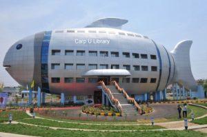 Winner! New University Library