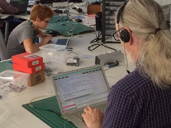 The 2015 Access Conference Sonification Hackfest