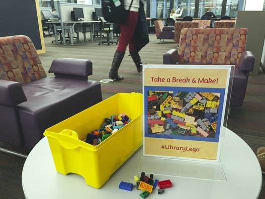 Lego in the library