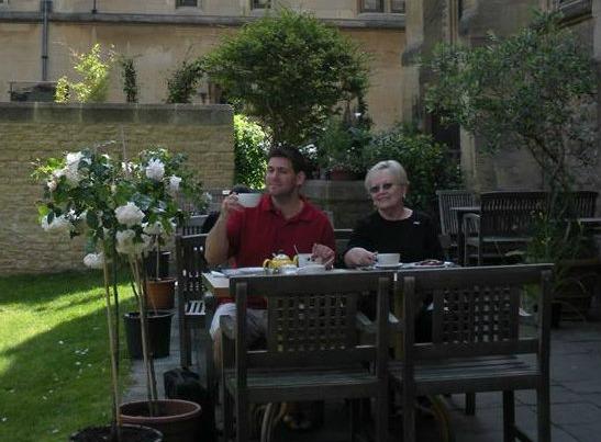 Matthew Griffis and Teresa Welsh
