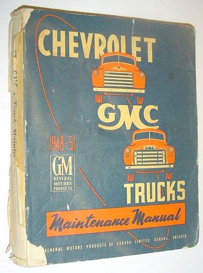 GMC Truck Manual