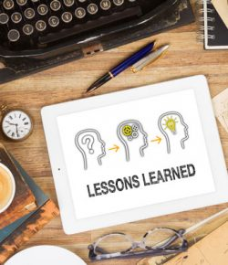 Moving Forward: A Reflection on Lessons Learned