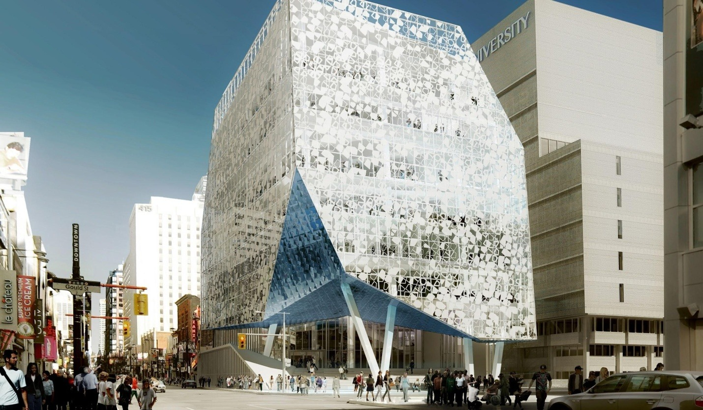 Ryerson University's new Student Learning Centre is slated to open January 2015.