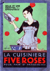 """Cuisiniere Five Roses """"Mlle Franco"""""""