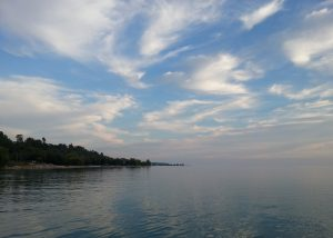 End-of-summer sky at Goderich