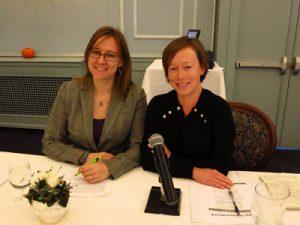 Dana Hopkins and Karen Reid (Photo: Elsa Ngan)