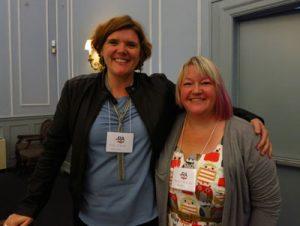 Molly O'Keefe and Maureen McGowan (Photo: Elsa Ngan)