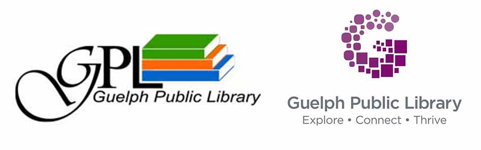Old & New Guelph Public Library Branding