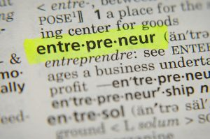 Picture of word entrepreneur