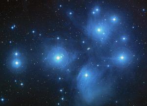 Matariki/Pleiades star cluster