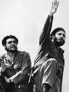 Che Guevara & Fidel Castro (1961). Photo by Alberto Korda