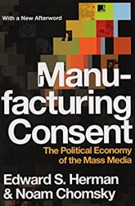 Cover of the book Manufactoring Consent: The Political Economy of the Mass Media