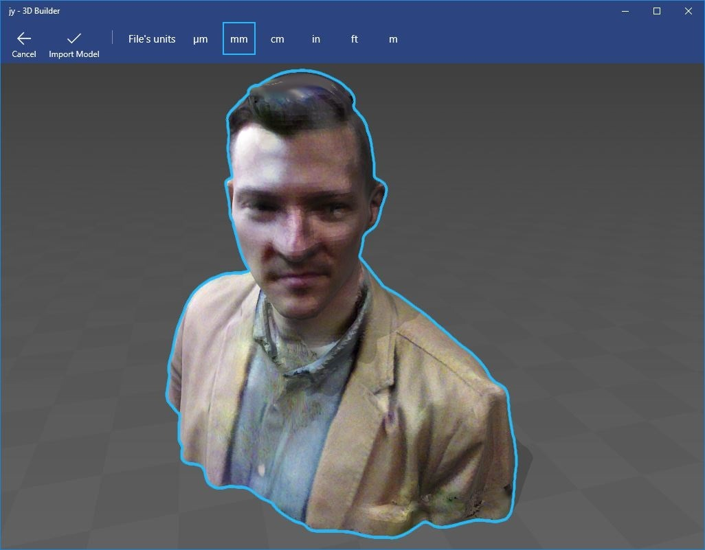 Jonathan Younker in computer 3D modeling